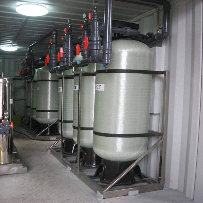 100TPD Movable water supply equipment (24)