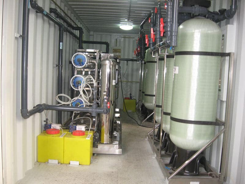 100TPD Movable water supply equipment (28)