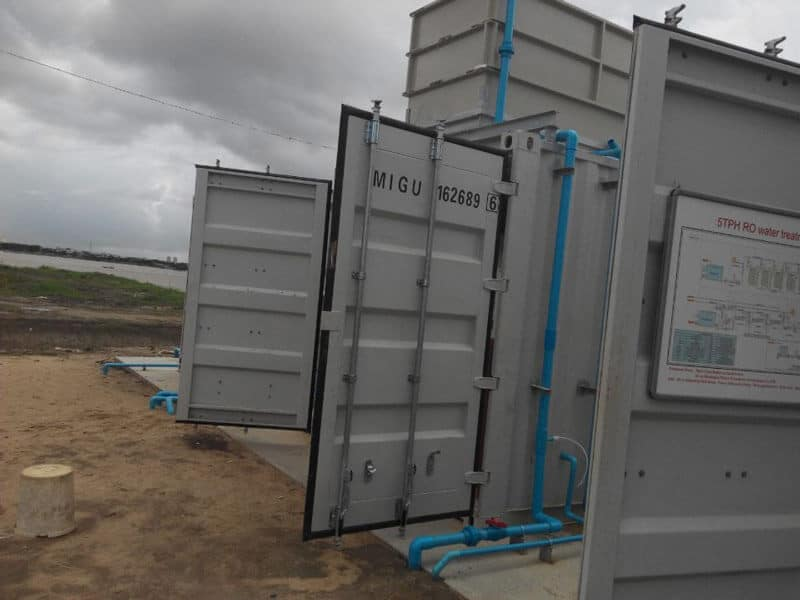 100TPD Movable water supply equipment (5)