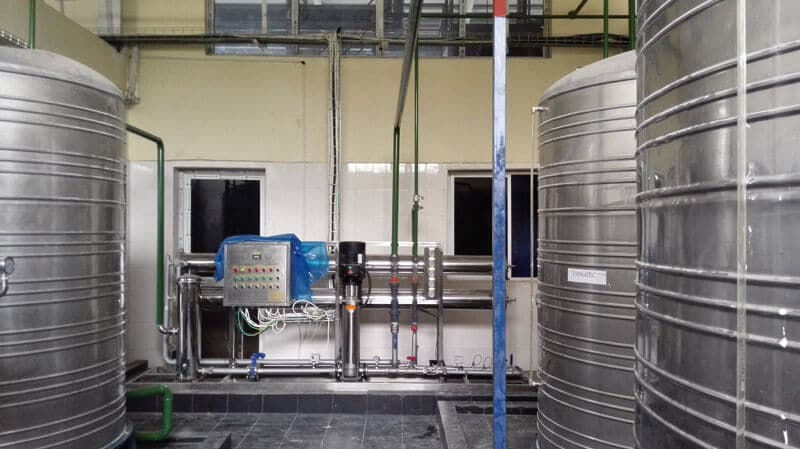 120TPD water treatment plant for food and drinking industry (1)