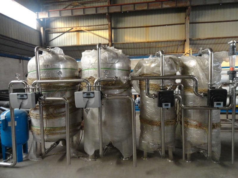 120TPD water treatment plant for food and drinking industry (11)
