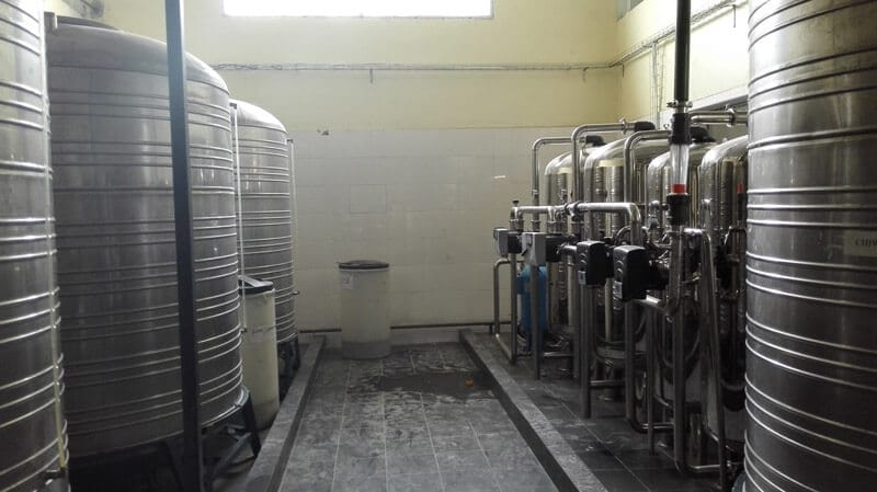 120TPD water treatment plant for food and drinking industry (2)