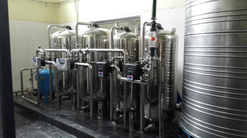 120TPD water treatment plant for food and drinking industry (3)