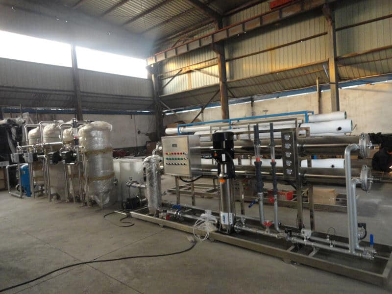 120TPD water treatment plant for food and drinking industry (9)
