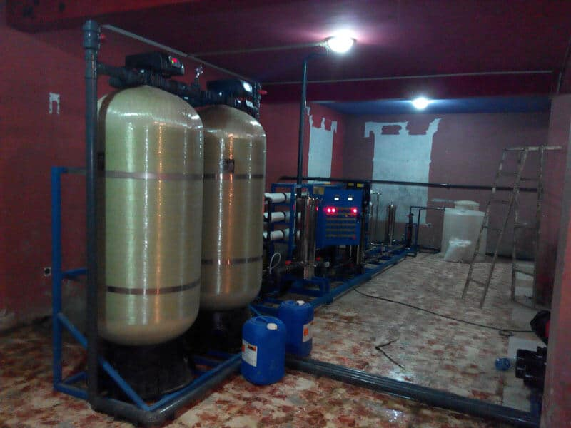 EPC project of water purification system (4)