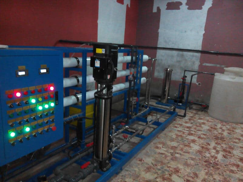 EPC project of water purification system (7)
